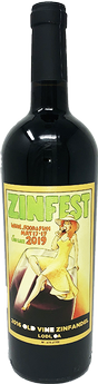 2019 Zinfest Commemorative Wine
